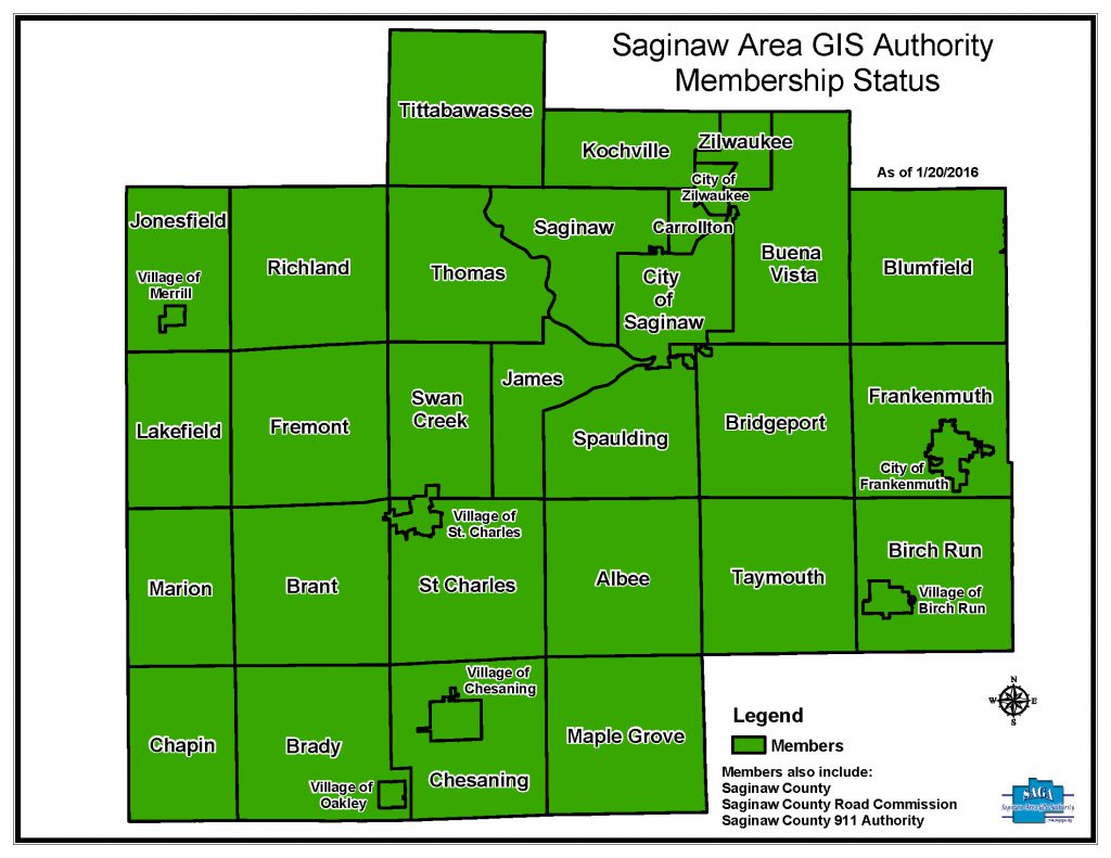 Members – Saginaw Area GIS Authority
